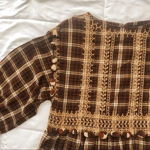 Zara boho tunic dress